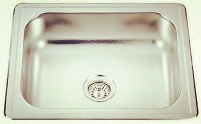 Topmount single bowl-KBTS6448