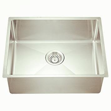 Handmade small radius corner sink-KBHS2318S