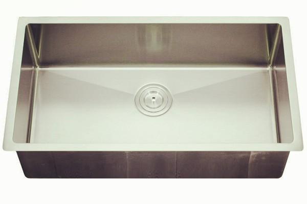 Handmade small radius corner sink-KBHS3219S