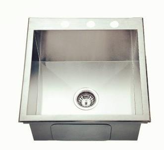 Handcraft topmount sink-KBHS1919