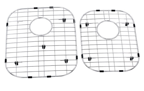 Bottom grid for double bowl