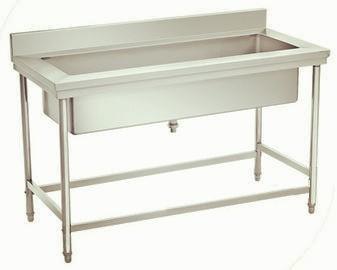 All stainless steel kitchen table sink-KBTDB15060