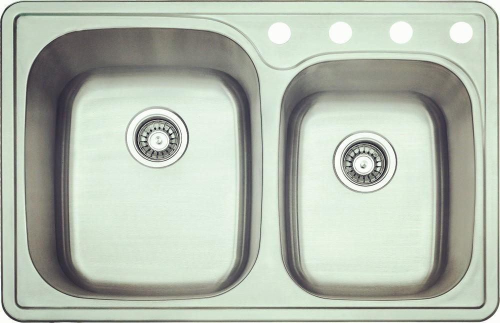 Topmount double bowl-KBTD3322B