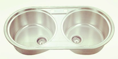 Topmount double bowl-KBTD8444